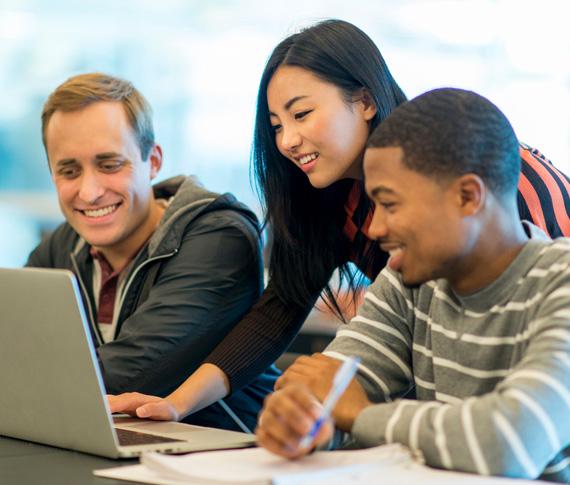students laptop